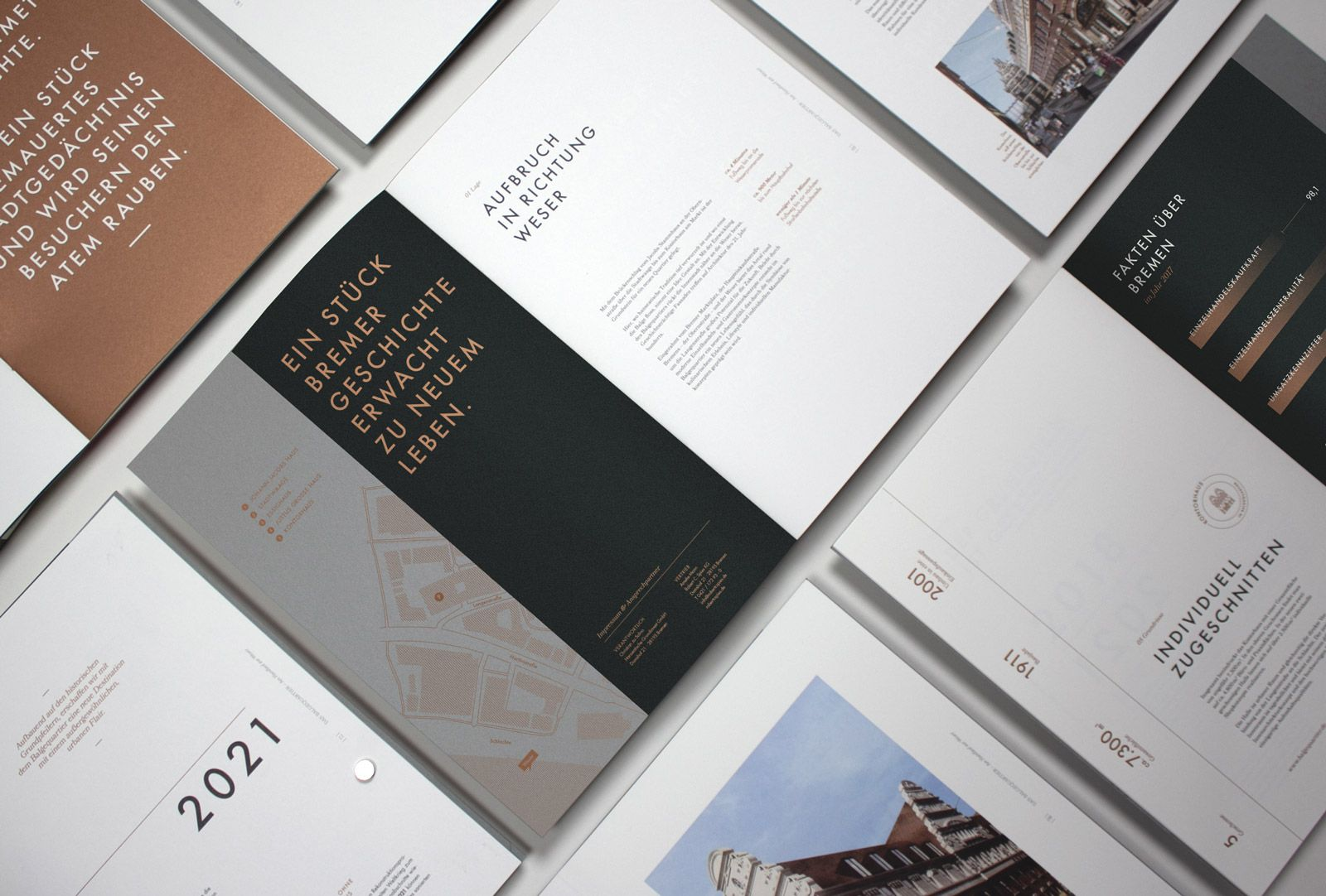 Balgequartier - Broschüren Überblick