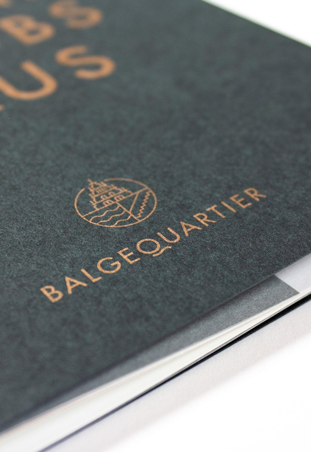 Balgequartier - Broschüre Closeup Logo