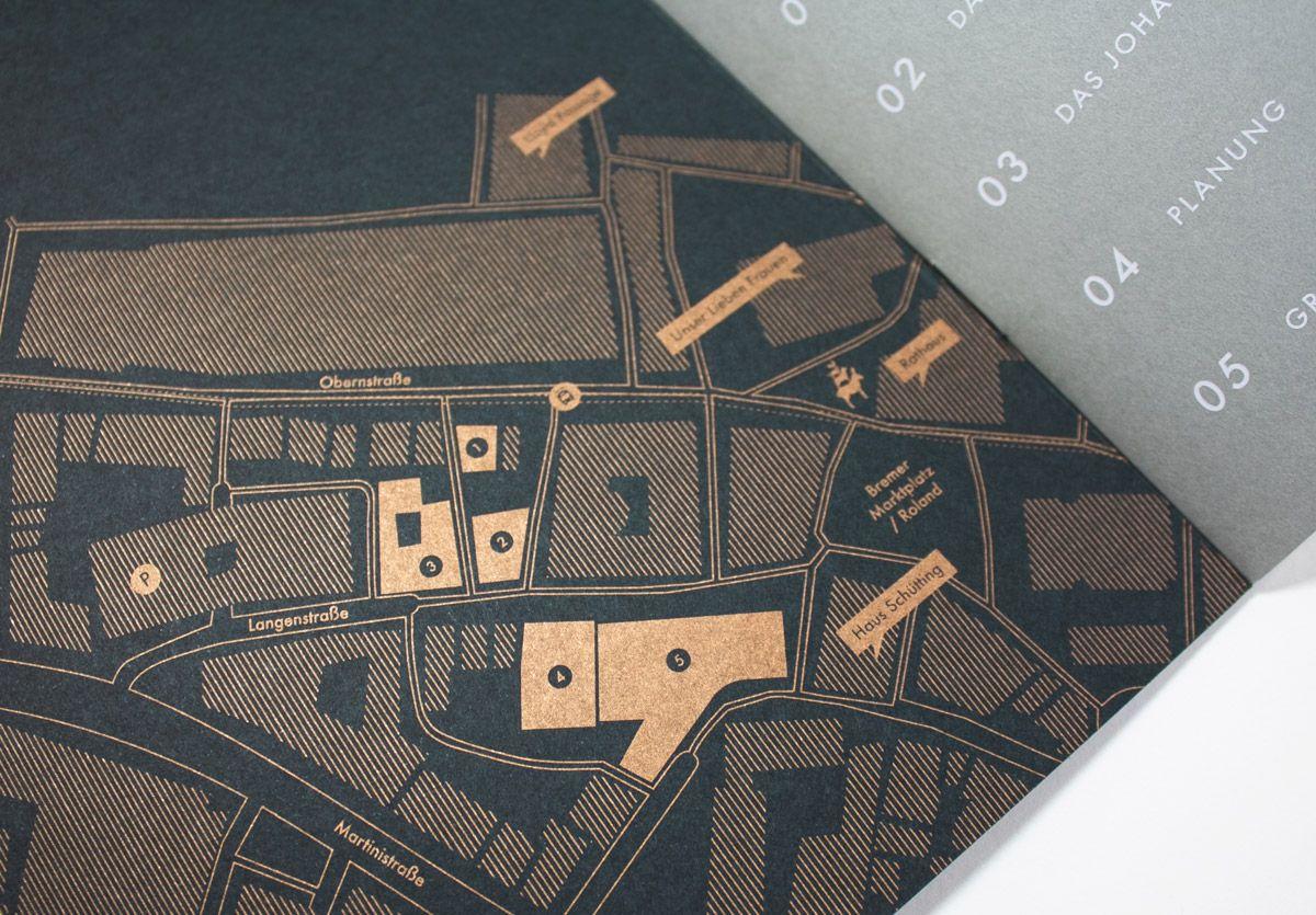 Balgequartier - Broschüre Closeup Karte