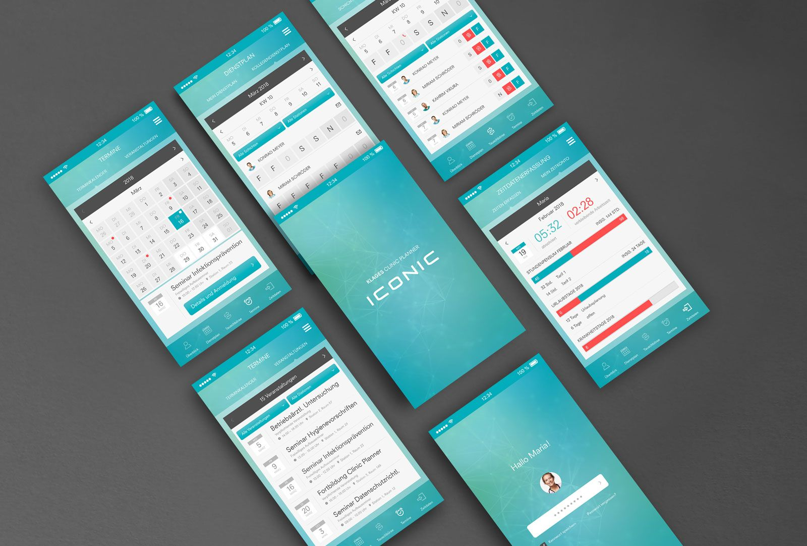 KLAGES & Partner - Clinic Planner App